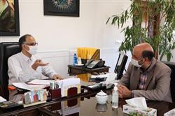 دیدار مدیرعامل سازمان همیاری با شهردار فیض آباد