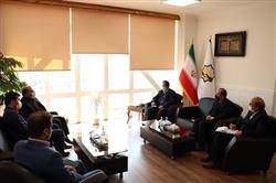 دیدار مدیرعامل سازمان همیاری با شهردار منطقه 6  مشهد