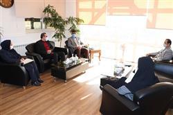 دیدار مدیرعامل سازمان  با رئیس کانون انجمن های صنفی کارفرمایی حرف خراسان رضوی