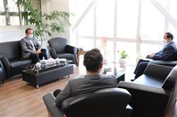 دیدار شهردار گلمکان با مدیرعامل و سرپرست معاونت بازرگانی سازمان همیاری