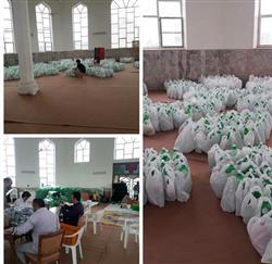 همکاری در تهیه ۳۰۰۰ بسته بهداشتی برای خانواده های کم برخودار شهرستان طرقبه شاندیز